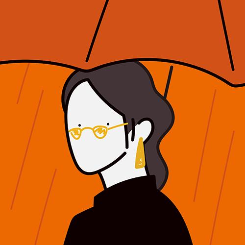よりセンシュアルなオレンジ&ブラウンで憂いを帯びた表情に