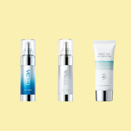 C'BONの美白3アイテムで 夏の陽射しに映える透明肌へ